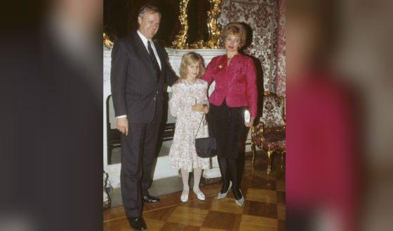 Родители Ксении Собчак: Анатолий Собчак и Людмила Нарусова