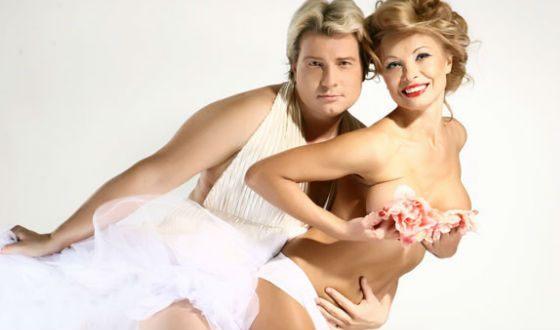 Скандальная фотосессия Николая Баскова и Марии Максаковой