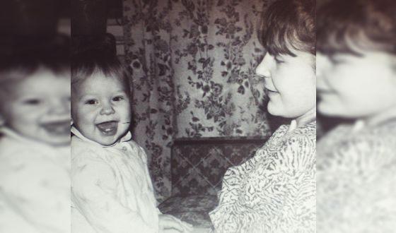 Гузель Хасанова и ее мама