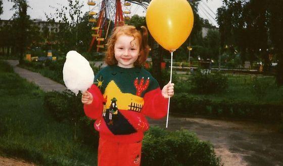 Валерия Дмитриева в детстве