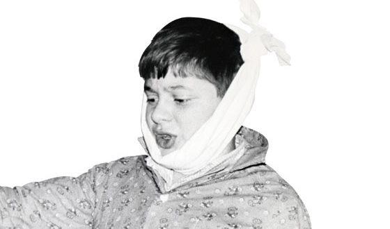 Дмитрий Брекоткин в детстве