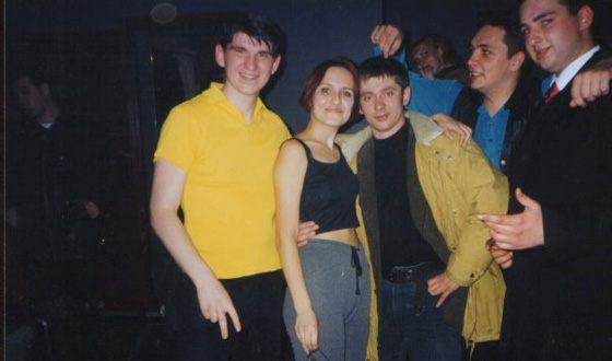 Дмитрий Брекоткин в молодости