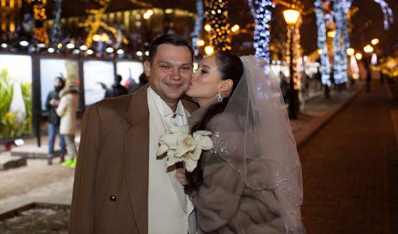 Илана Исакжанова и ее муж Дмитрий Дылдин
