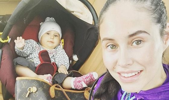 Илана Исакжанова с дочерью Дианой