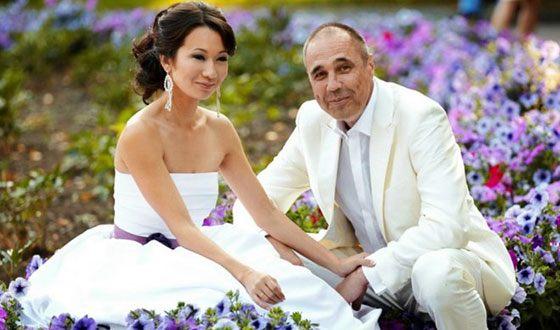 Дмитрий Соколов с женой Ксенией