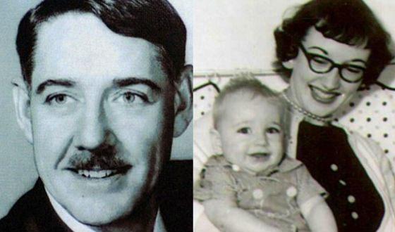 Отец Кевина Спейси (слева) был последователем нацистов