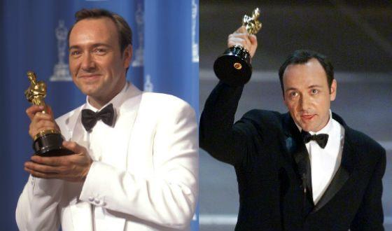 Среди наград Кевина Спейси – два «Оскара»
