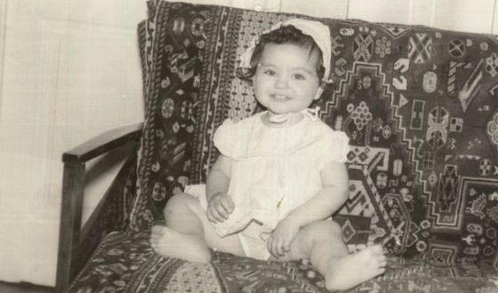 Мила Кунис в детстве