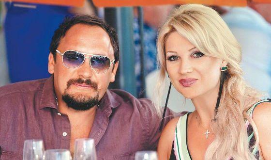 Стас Михайлов и его жена Инна Канчельскис