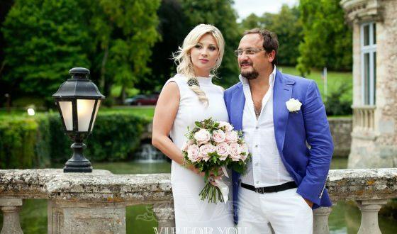 Свадьба Стаса Михайлова и Инны прошла во Франции