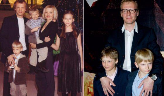 У Алексей Серебрякова трое детей