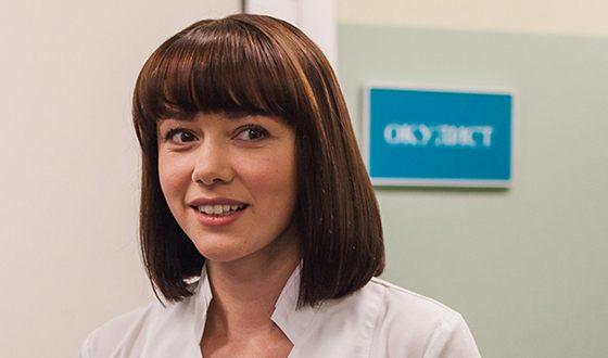 Ольга Гришина органично вживается в роль врача