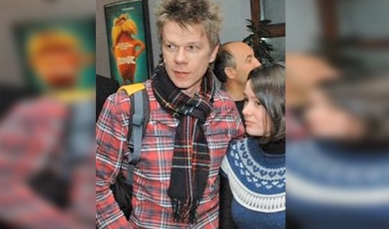 Кирилл Кашликов и Ольга Гришина. Одно из редких совместных фото