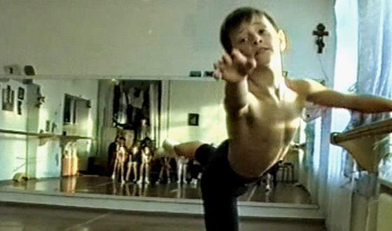 Сергей Полунин с детства наделен уникальной пластикой