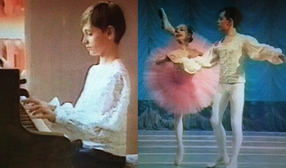 Сергей Полунин во время учебы в Киевском хореографическом училище