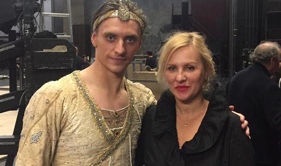 Сергей Полунин с мамой