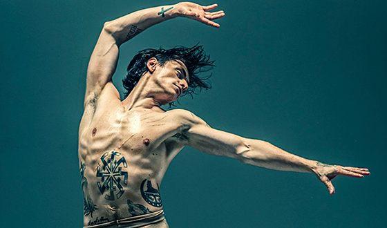 Сергей Полунин украсил свое тело многочисленными татуировками