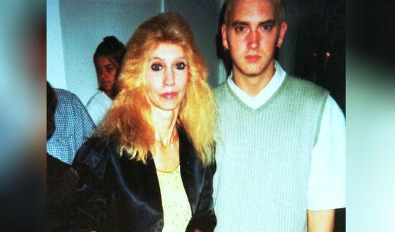 Эминем и его мама Дебора