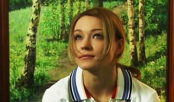 Совсем молодая Анастасия Панина в начале актерской карьеры