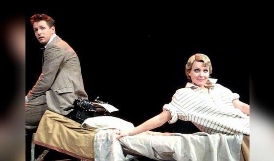 Анастасия Панина и Владимир Жеребцов в «Пулях над Бродвеем»