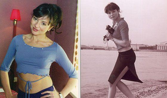 Анна Банщикова в молодости
