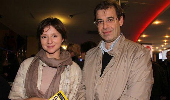 Анна Банщикова и ее муж Всеволод Шаханов