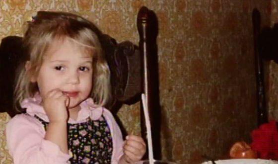 Алисия Викандер в детстве
