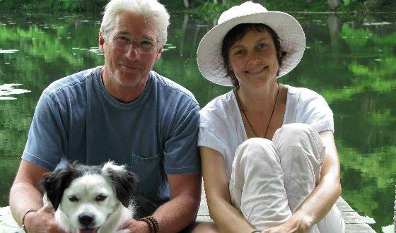 Ричард Гир и его бывшая жена Кэри Лоуэлл