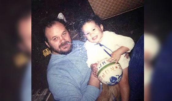 Меган Маркл с отцом в детстве