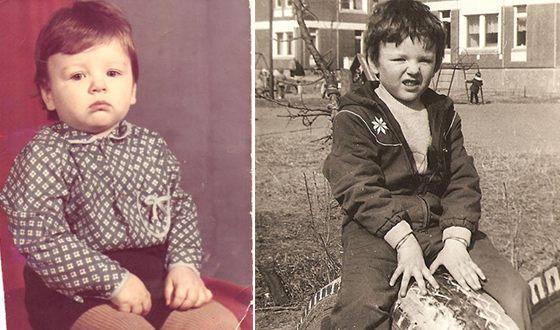 Детские фото Тони Раута