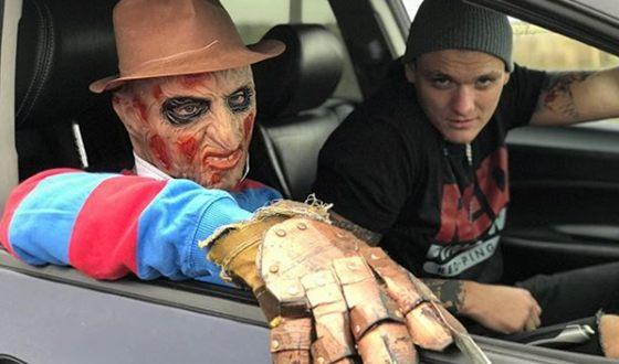 Кадр из клипа «Бал вампиров» с Фредди Крюгером