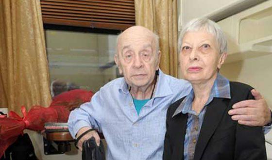 Со второй женой Викторией Валентиновной Броневой