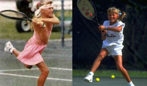 В 1991 году Анна Курникова переехала в США