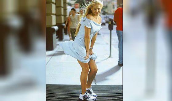 Фотосессия Анны Курниковой для Adidas
