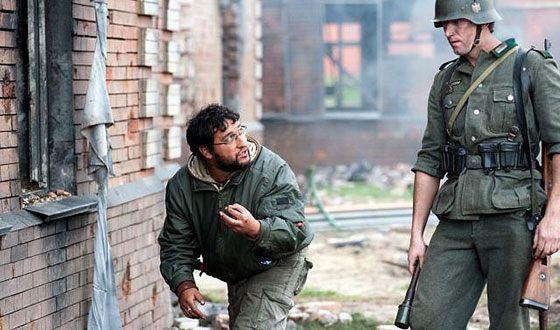 Александр Котт на съемках фильма «Брестская крепость»