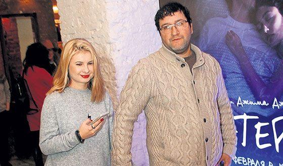 Александр Котт с женой Анной Цукановой