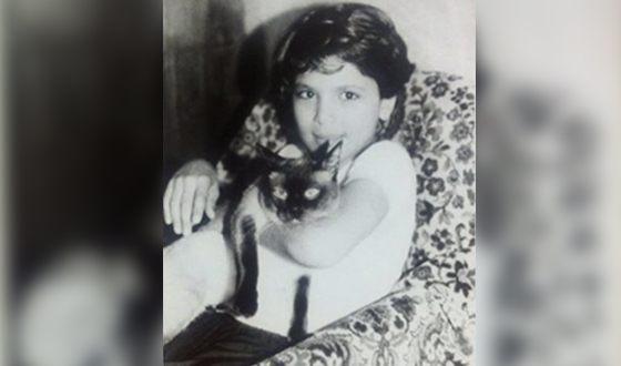 Давид Нуриев (рэпер Птаха) в детстве