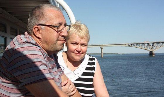 Родители Галины Боб