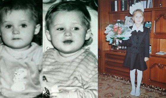 Анна Иванова (Ханна) в детстве
