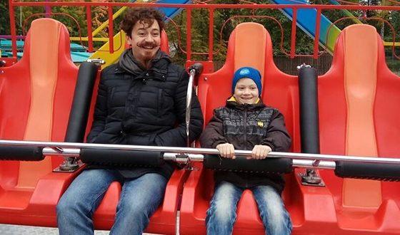 Ив Набиев с сыном Андреем