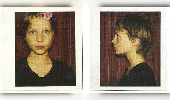 Детские фото Клеманс Поэзи из личного архива
