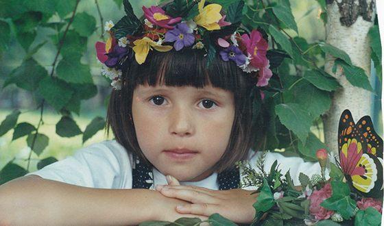 Эльвира Т в детстве