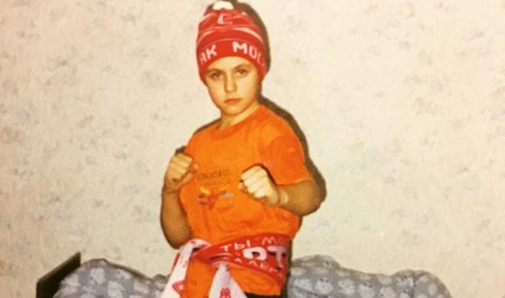 Иван Абрамов в детстве