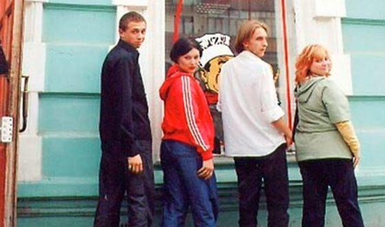 Команда КВН «Парма»: Олег Верещагин, Жанна Кадникова, Гавриил Гордеев и Светлана Пермякова