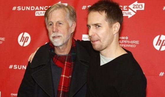 Сэм Рокуэлл с отцом