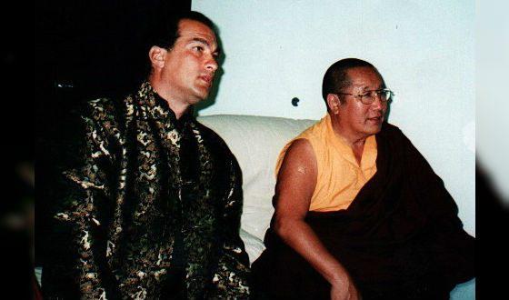 Стивен Сигал знаком с Далай-ламой