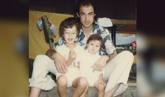Стивен Сигал с детьми от первой супруги