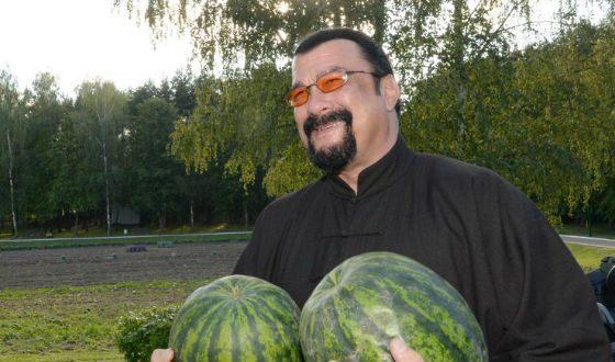Стивен Сигал в Минске