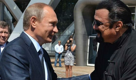 Стивен Сигал дружит с Владимиром Путиным