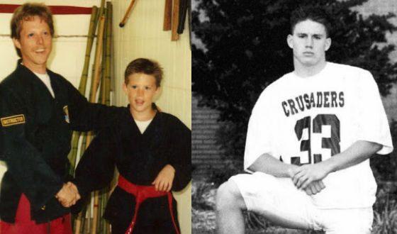 Ченнинг был очень спортивным ребенком